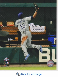 2009 MLB All-Star Game Carl Crawford 8x10 Photo
