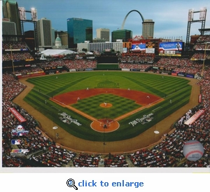 2009 MLB All-Star Game First Pitch 8x10 Photo - St Louis Cardinals
