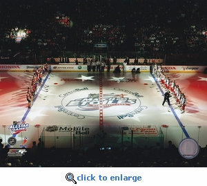 2009 NHL All-Star Game Opening Ceremony Montreal Canadiens 8x10 Photo