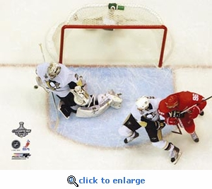2009 NHL Stanley Cup Pittsburgh Penguins Final Save Game 7 8x10 Photo