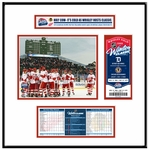 2009 NHL Winter Classic Ticket Frame Jr - Red Wings