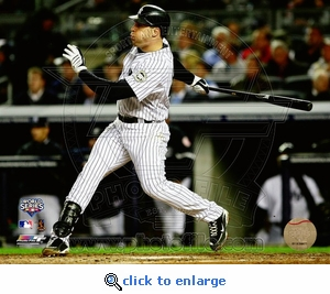 2009 World Series: Game 2 Mark Teixeira Homerun 8x10 Photo - New York Yankees