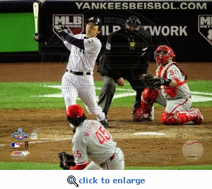 2009 World Series: Game 6 Hideki Matsui MVP 8x10 Photo - New York Yankees