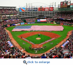 2010 Arlington Opening Day 8x10 Photo - Texas Rangers