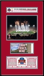 2010 BCS Championship Ticket Frame Jr - Alabama Crimson Tide