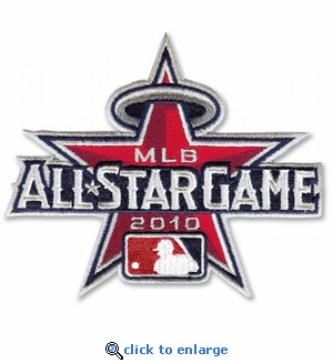 2010 MLB All-Star Game Embroidered Patch