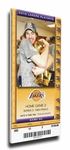 2010 NBA Finals Canvas Mega Ticket - Game 2, Gasol - Los Angeles Lakers
