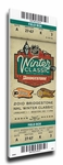 2010 NHL Winter Classic Canvas Mega Ticket - Flyers vs Bruins