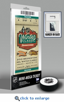 2010 NHL Winter Classic Mini-Mega Ticket - Flyers vs Bruins