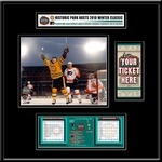 2010 NHL Winter Classic Ticket Frame Jr - Flyers vs Bruins