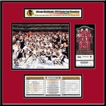 2010 NHL Stanley Cup Ticket Frame Jr - Blackhawks