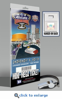 2010 Sugar Bowl Mini-Mega Ticket - Florida Gators