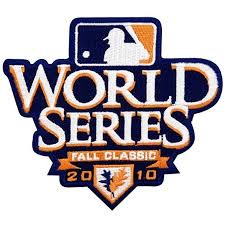 2010 World Series Embroidered Patch - San Francisco Giants vs Texas Rangers