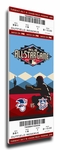 2011 MLB All-Star Game Canvas Mega Ticket - Diamondbacks Host - MVP Prince Fielder, Brewers