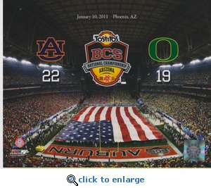 2011 National Champions 2 8x10 photo - Auburn Tigers