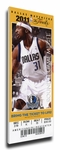 2011 NBA Finals Canvas Mega Ticket - Game 3, Terry - Dallas Mavericks