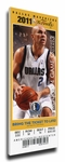 2011 NBA Finals Canvas Mega Ticket - Game 5, Kidd - Dallas Mavericks