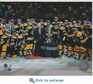 2011 NHL Eastern Conference Finals Team 8x10 photo - Boston Bruins