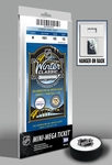 2011 NHL Winter Classic Mini-Mega Ticket - Capitals vs Penguins