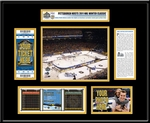2011 NHL Winter Classic Ticket Frame - Capitals vs Penguins