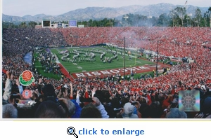 2011 Rose Bowl 8x10 photo - Wisconsin Badgers