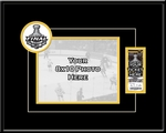 2011 NHL Stanley Cup Final 8x10 Photo Ticket Frame - Boston Bruins