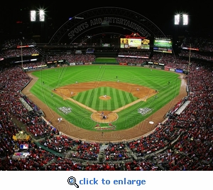 2011 World Series Game 1 First Pitch 8x10 Photo - St Louis Cardinals