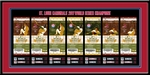 2011 World Series Tickets to History Framed Print - St Louis Cardinals