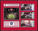 2012 BCS Championship Game Deluxe 3X Replica Ticket Frame - Alabama Crimson Tide