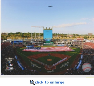 2012 MLB All-Star Game Opening Ceremony 8x10 Photo - Kansas City Royals