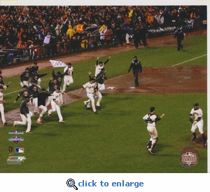 2012 MLB NLCS Team Celebration 8x10 Photo - San Francisco Giants