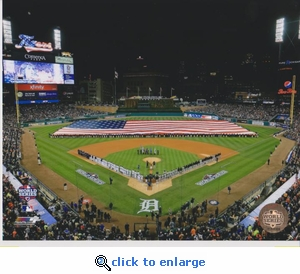 2012 MLB World Series Opening Ceremony 8x10 Photo - Detroit Tigers