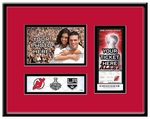 2012 NHL Stanley Cup Final 4x6 Photo Ticket Frame - New Jersey Devils