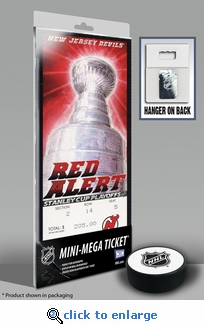 2012 NHL Stanley Cup Final Mini-Mega Ticket - New Jersey Devils