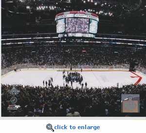 2012 NHL Stanley Cup Staples Center 8x10 photo - Los Angeles Kings
