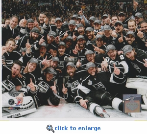 2012 NHL Stanley Cup Team Celebration 8x10 photo - Los Angeles Kings
