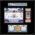 2012 NHL Winter Classic Ticket Frame Jr - Rangers vs Flyers