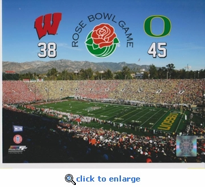 2012 Rose Bowl Game 8x10 photo - Oregon Ducks