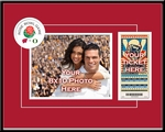 2012 Rose Bowl Your 8x10 Photo Ticket Frame - Wisconsin vs Oregon