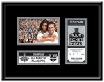 2012 NHL Stanley Cup Champions Banner Raising 4x6 Photo Ticket Frame - Los Angeles Kings