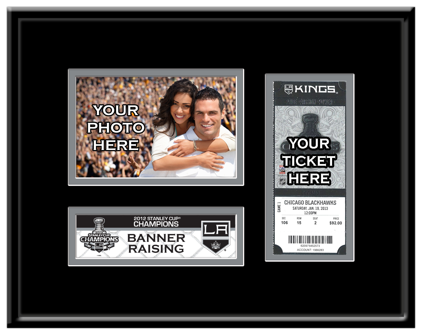Nhl stanley cup ticket frames jeuxipadfo Image collections