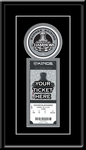 2012 NHL Stanley Cup Champions Banner Raising Single Ticket Frame - Los Angeles Kings