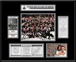 2012 NHL Stanley Cup Final Ticket Frame - Los Angeles Kings Champions