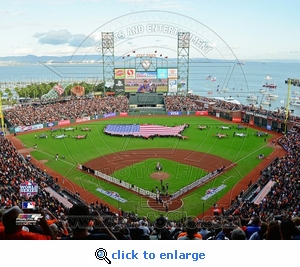 2012 World Series Game 1 Opening Ceremony 8x10 Photo
