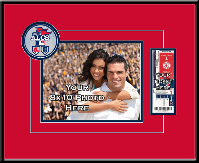 2013 ALCS Your 8x10 Photo Ticket Frame - Boston Red Sox