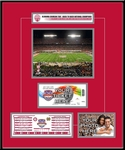 2013 BCS Championship Game Ticket Frame - Alabama Crimson Tide