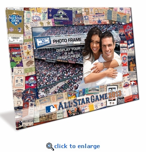 2013 MLB All-Star Game Padded Front 4x6 Picture Frame - New York Mets