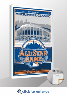 2013 MLB All-Star Game Sports Propaganda Canvas Print - New York Mets