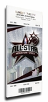 2013 NBA All-Star Game Canvas Mega Ticket, Rockets Host - MVP Chris Paul, Clippers