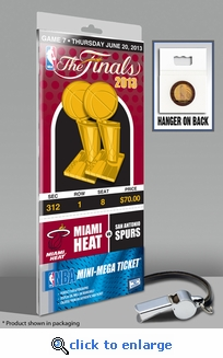 2013 NBA Finals�Mini-Mega Ticket - Miami Heat